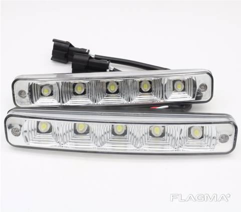 Светодиодные дневные ходовые огни ДХО BMW X5 E70.