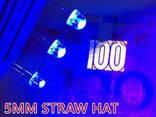 Светодиоды 5мм ультрафиолетовые (комплект 10шт) - фото 1