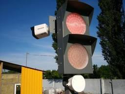 Светофор для автомобильных весов, светофор транспортный