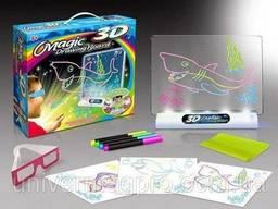 Светящаяся электронная доска для рисования, 3D доска для. ..