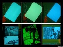 Светящаяся фотобумага, люминофоры