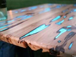 Светящаяся в темноте краска для дерева от Нокстон