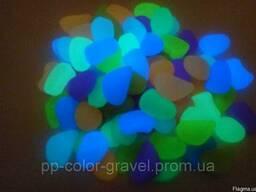 Светящийся камень в темноте грунт для аквариума. (001)
