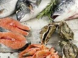 Свежемороженная рыба и морепродукты,оптом и в розницу.