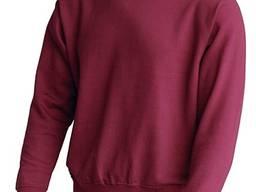 Бордовая толстовка, реглан цвет бордо марсала