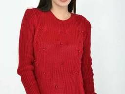 Свитер женский 122R003 цвет Бордовый