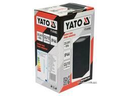 Світильник 2-LED настінний, мережевий YATO, квадратний, 35 Вт, 68 х 150 х 92 мм, цоколь. ..
