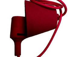 Світильник універсал. підвісн. силікон. ART-LOFT E27 RED. ..