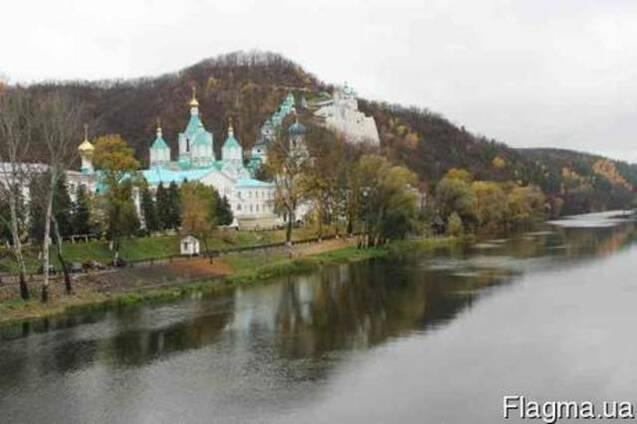 Святогорск, Святогорская Лавра из г. Павлограда, г. Терновки, Першотравенска