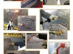 Магнит для споттера с приварным наконечником кабеля Масса