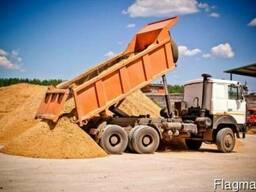 Сыпучие материалы:песок, щебень, шлак, отсев