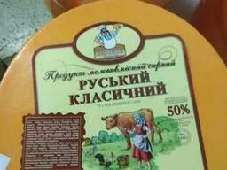 Сыр сырный продукт 50% жирности Русский классический