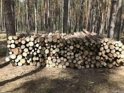 Сырье техническое дрова сосна