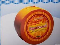 """Сырный продукт """" Вершковий"""" 50% , круг"""
