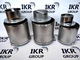 Сырные формы из нержавеющей стали, цилиндричные 3-х элементнные/ Форми для сиру з нерж.