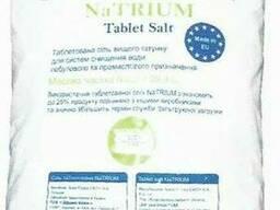 Таблетированная соль для регенерации 25кг