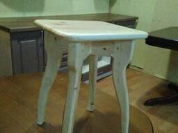Табуретки, стулья, вешалки напольные изготовим - фото 4