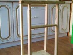 Табуретки, стулья, вешалки напольные изготовим - фото 6