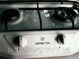 Таганок Greta 2-х конфорочный без крышки
