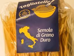 Tagliatelle - макаронные изделия из твердых сортов пшеницы