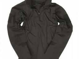Тактическая рубашка Ubacs Mil-Tec Tactical Field Shirt рип-стоп черная