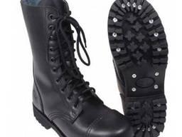 Тактические ботинки со стальным носком MFH черные