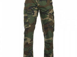 Тактические брюки Mil-Tec BDU Field Pants Slim Fit woodland