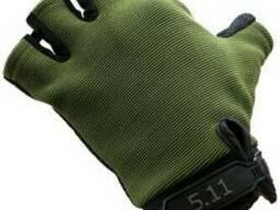 Тактические короткопалые перчатки 5.11
