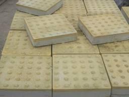 "Тактильна плитка бетонна ""Шаблон уваги"" (Конус) 400х400х50"