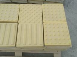 Тактильная плитка бетонная 300х300х60 мм Полоса