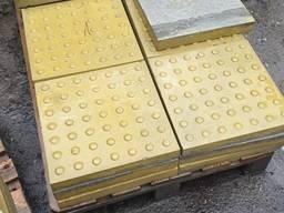 Тактильная плитка желтая купить