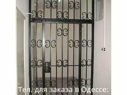 Тамбурные решётки двери