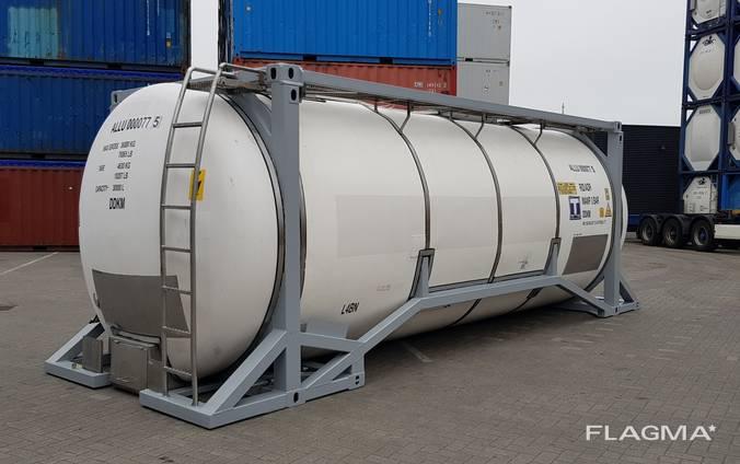 Танк-контейнер 20 футовый 30 м. куб.