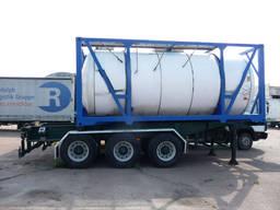 Танк-контейнер (цистерна) 20 фт для жидкостей с подогревом