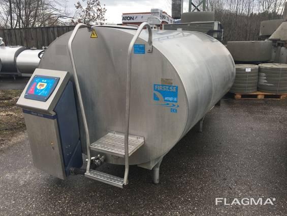 Танк -охладитель молока французскойфирмыSerap RL/20 3500 л