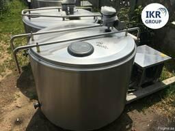 Танк охолоджувач молока Б / У ALFA LAVAL 500 відкритого типу