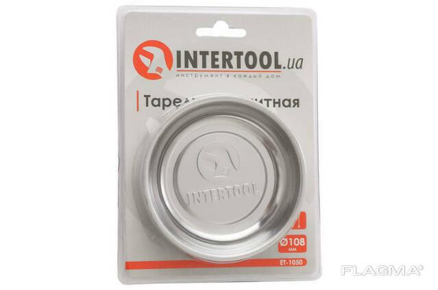 Тарелка магнитная Intertool - 108 мм (ET-1050)