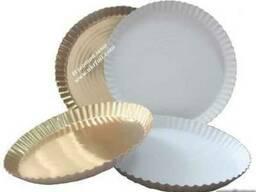 Тарелка для пиццы из плотного картона .