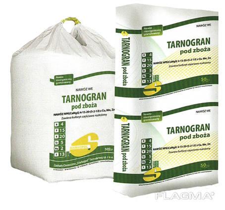 Tarnogran Z NPK (CaMgS) 4-15-20 (5-2-13). Тарногран зернові