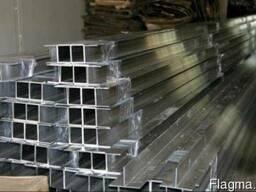 Тавр алюминиевый 50х80х2 б.п.