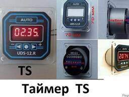 Таймер ТS, cерия UDS-12. R, счет минут-секунд и часов-минут