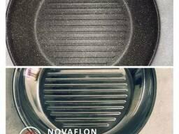 Восстановление антипригарного покрытия сковороды Novaflon