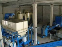 Технологическая линия по производству пеллет из биомассы