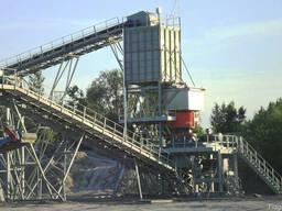 Технологические линии дробильно-сортировочных заводов