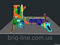 Технологической линии РОСА − 2