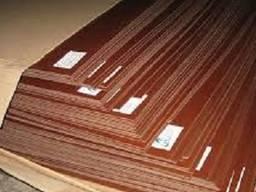 Текстолит листовой 1. 0-70 мм . 1000х1000