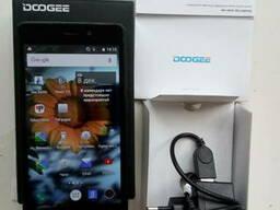 Телефон DOOGEE X5 зарядка оригинал коробка