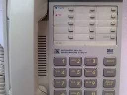 Телефон Panasonic KX-T2365 White(Цвет белый)Малазийская сб