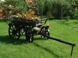 Телега декоративная для сада - фото 1
