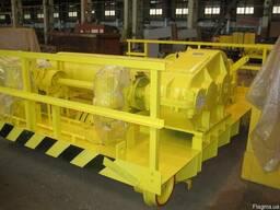 Колесная пара телеги грузовой крана мостового